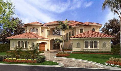 Plan 32065AA: Luxury Mediterranean Style Luxury house