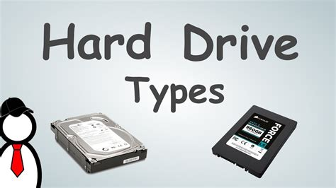 Hard Drives And Storage Types