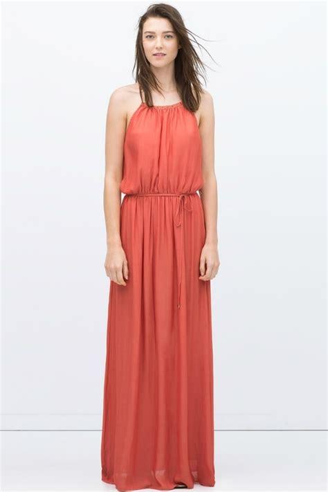 robe longue classe zara robe d ete longue zara les tendances de la mode