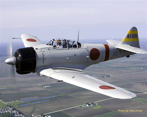 Mitsubishi A6m Zero. The A6m Is Universally Known As The