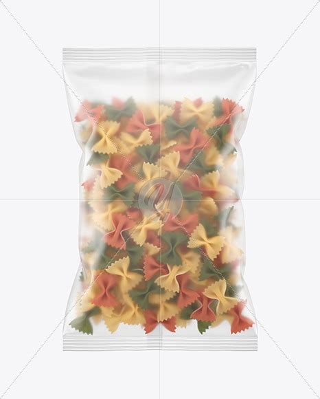 The bag content is not editable. Plastic Bag With Chifferini Pasta Mockup - Free PSD ...