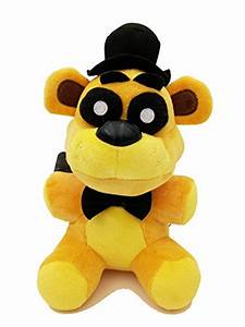 Golden Freddy Bear Exclusive Collectible 7inch Plush Toy ...