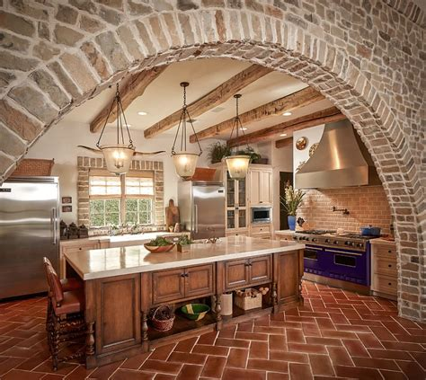 terra cotta tile kitchen 20 interiors that embrace the warm rustic of 6030