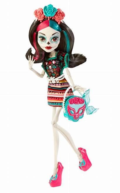 Skelita Calaveras Characters Monster Clawdeen Wolf Doll
