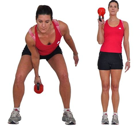 kettlebell exercises side biceps workout arm swing step fun curl single paige waehner effective most pick exercise raccogli allenamento tuo