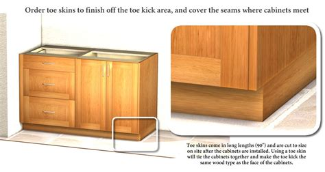 Base Cabinet Toe Skins