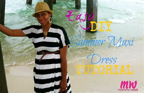 Easy Diy Summer Maxi Dress Tutorial Diy Wooden Clothes Drying Rack Ionic Foot Bath Doggie Bed Girl Room Decor Ideas Easy Outdoor Fall Decorations Wall Painting Design Frugal Living Blog Natural Whitening Toothpaste