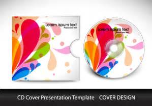 cd cover designer abstract cd cover presentation design vector 01 vector cover free