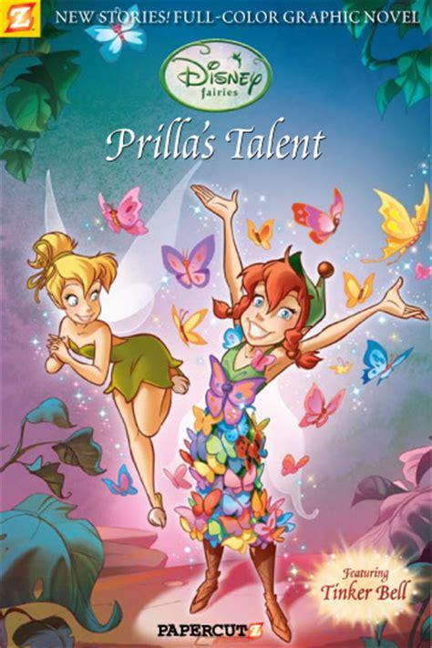 comic review disney fairies prilla s talent graphic novel 1 fandomania