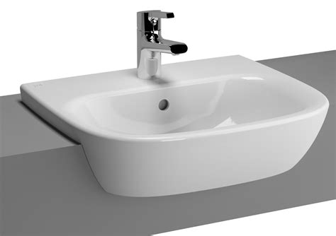 Vitra Zentrum Mm Semi Recessed Basin