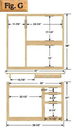 hoosier cabinet plans woodworking projects plans