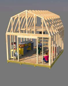 12x16 gambrel roof shed plans 12x16 barn plans barn shed plans small barn plans in