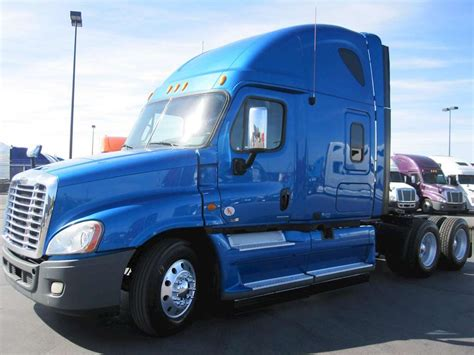 freightliner trucks for sale 2012 freightliner cascadia 125 sleeper truck for sale
