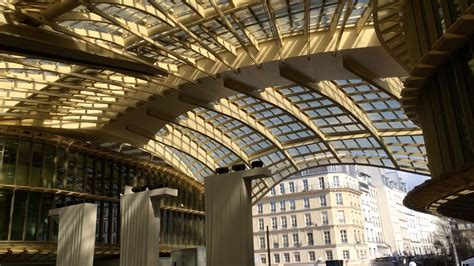 La Canopée Des Halles Continue à Fuir Parisvox