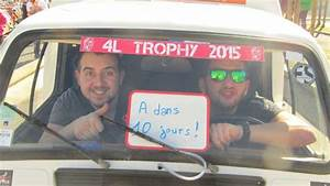 Départ 4l Trophy 2015 : revivez en images et en vid o le d part en fanfare du 4l trophy biarritz ~ Medecine-chirurgie-esthetiques.com Avis de Voitures