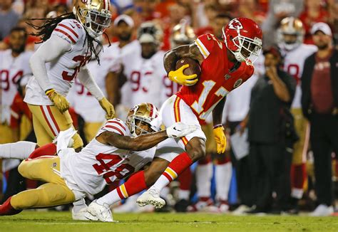 San Francisco 49ers 5 X Factors To Beating Chiefs In