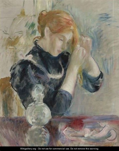 devant la toilette berthe morisot wikigallery org the largest gallery in the world