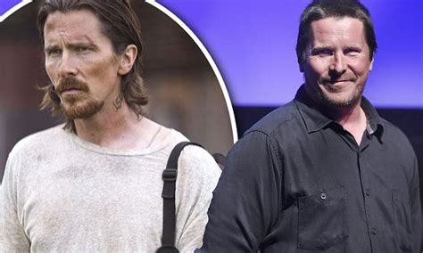 Christian Bale Shows Off Fuller Figure Play Dick Cheney