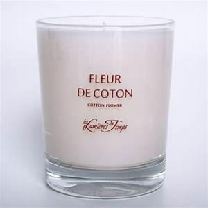 Bougie Fleur De Coton : bougie v g tale fleur de coton les lumi res du temps incenza ~ Teatrodelosmanantiales.com Idées de Décoration
