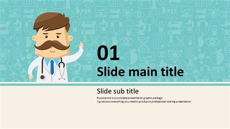 doctor powerpoint template wide goodpello