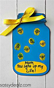 """Firefly """"You Light up my Life"""" Mother's Day Card (Free ..."""