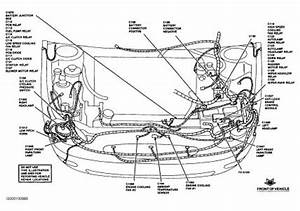 Diagram Of Fuse Box  Brakes Problem 1999 Ford Taurus 6 Cyl