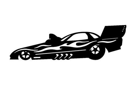 Drag Car Dxf File Free Download