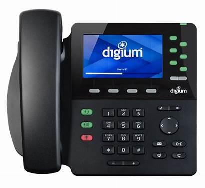 Desk Digium D65 Telephone Voip Sip Executive