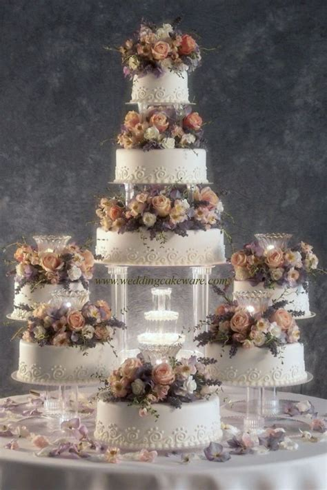 cake stand set of 3 8 tier cascading wedding cake stand stands set ebay