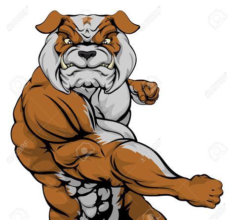 Fighting Clipart Fighting Bulldog Clipart