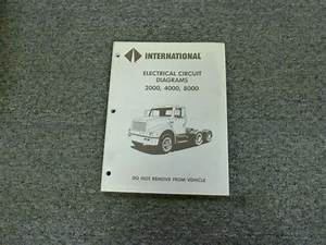 1995 International 2554 2574 2654 2674 Truck Electrical