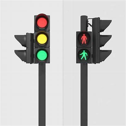 Traffic Pedestrian Clipart Street Lights Max Clip