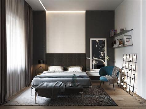 beautiful black white bedroom designs