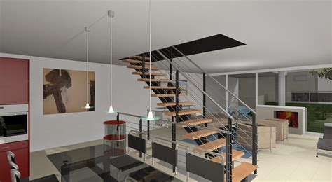 tips desain tangga rumah dua lantai rumah minimalis