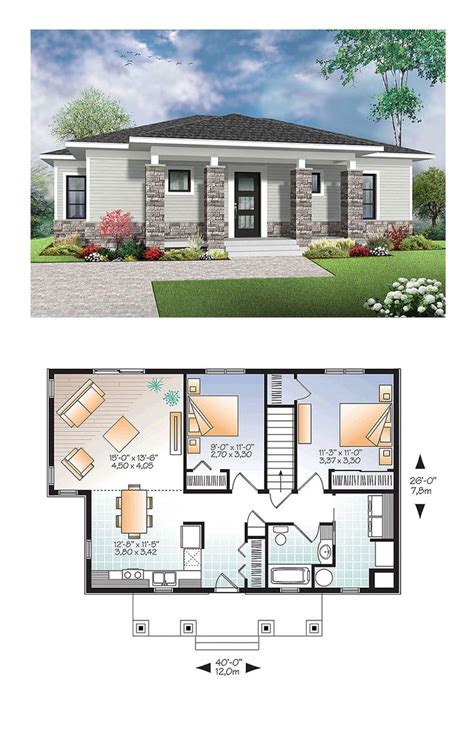 modern home plans with photos small home floorplans image free house floor plans