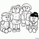 Cabbage Patch Coloring Draw Pages Drawing Drawings Step Printables Skin Troll Patches Comments Steps Getdrawings Hair Coloringhome Drawinghub sketch template