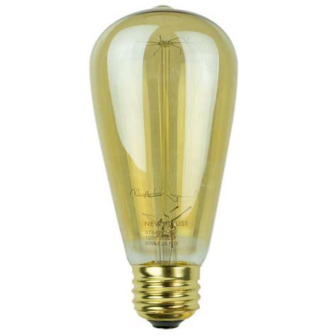 new light bulbs newhouse lighting 60 watt incandescent st64 vintage bulb
