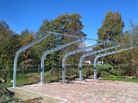 tettoia in ferro zincato affordable tettoia per auto in ferro zincato u runa biella