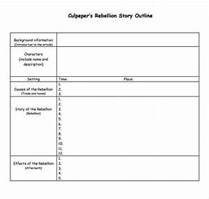 story outline sample 9 documents in pdf word With story outline template for kids