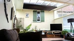 Store De Veranda Interieur : cidev stores motoris pour v randa et toiture youtube ~ Voncanada.com Idées de Décoration
