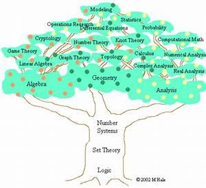 Is There Any Diagram Or Tree Of All Fields Of Mathematics