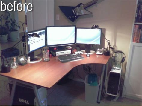 Dual Monitor Standing Desk Ikea by Galant Stand Up Desk And Rationell Variera Monitor Stands