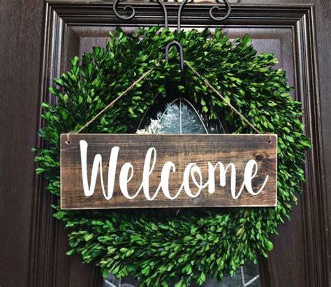 welcome signs for door
