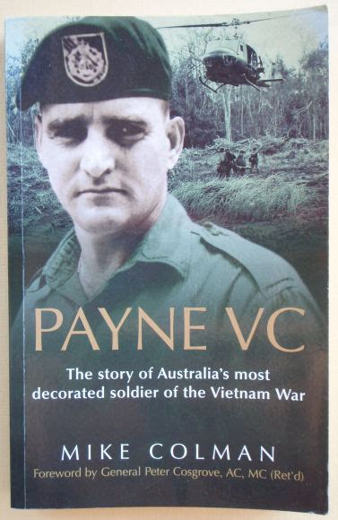payne vc the story of australia s most decorated soldier