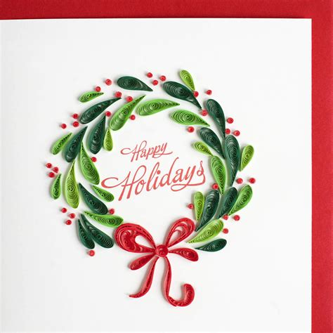 holiday wreath  images quilling christmas