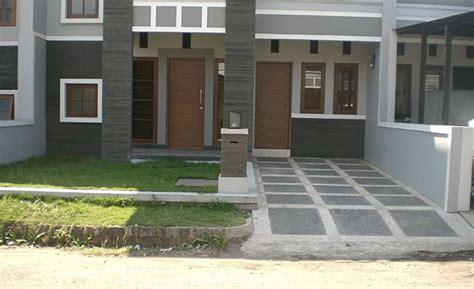 model carport minimalis batu alam carport rumah