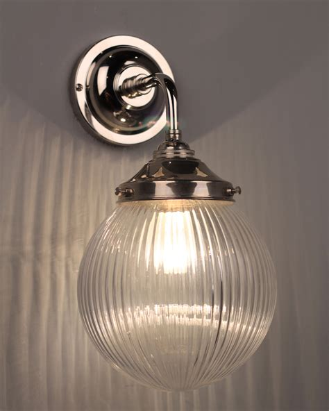 designer bathroom wall lights uk pembury traditional prismatic bathroom wall light