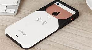 aircharge MFi Qi iPhone 5S / 5 Wireless Charging Case - White