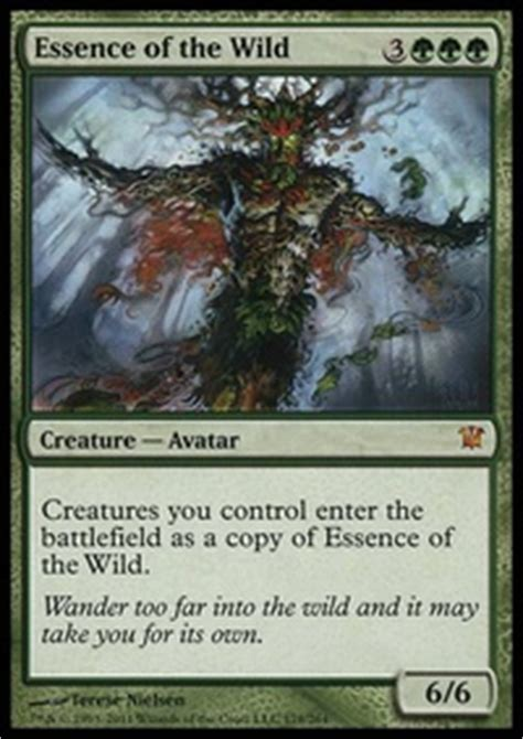 Squirrel Nest Mtg Deck by Essence Of The Squirrel Casual Mtg Deck