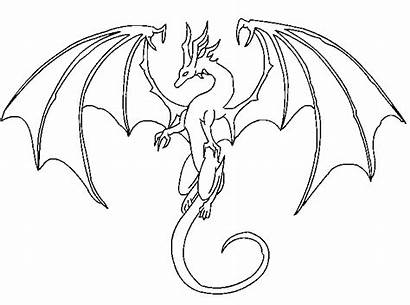 Dragon Line Lineart Drawing Easy Drawings Deviantart